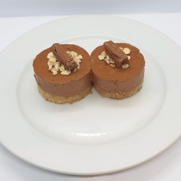 Chocolate Hazelnut Cheesecake | Authentic Irish Condiments | The Long Dock