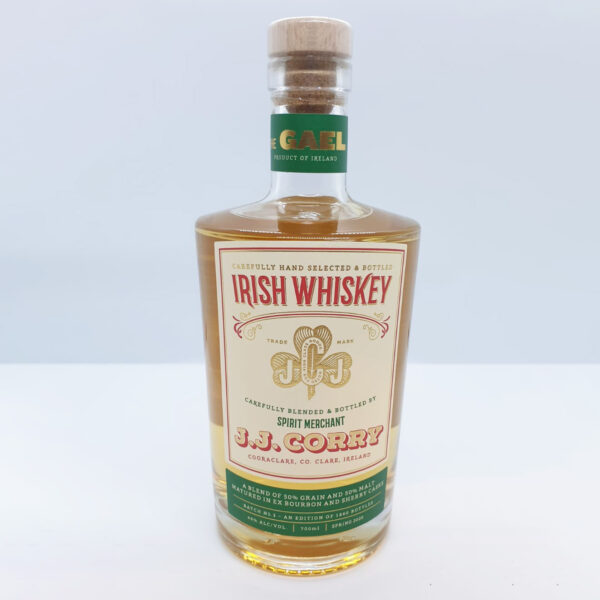 JJ Corry Whiskey The Gael   Authentic Irish Condiments   The Long Dock
