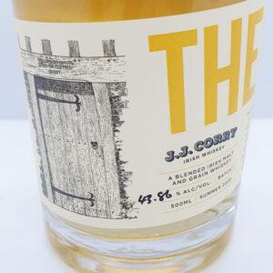 JJ Corry Whiskey The Lockin | Authentic Irish Condiments | The Long Dock