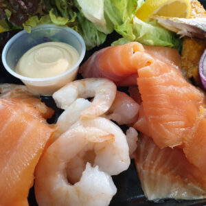 Mixed Seafood Platter | Authentic Irish Condiments | The Long Dock