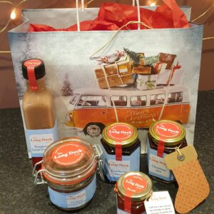 Christmas Gift Bag | Authentic Irish Condiments | The Long Dock